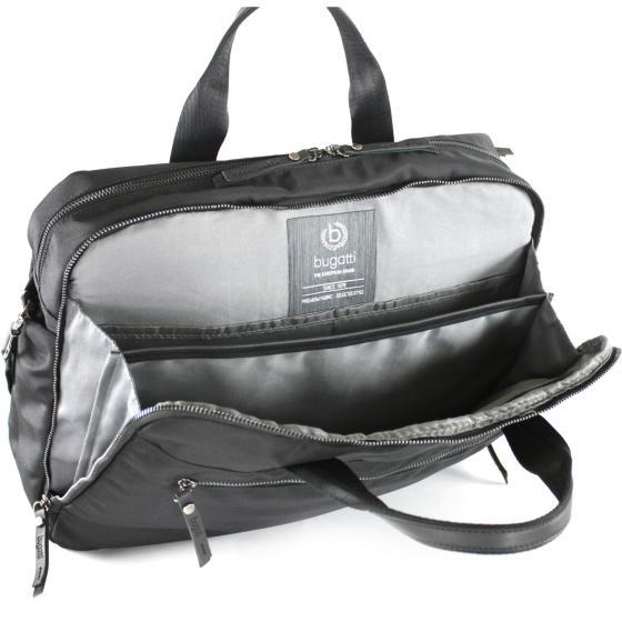 Contratempo Reißverschluss-Businesstasche L 42,5 cm schwarz