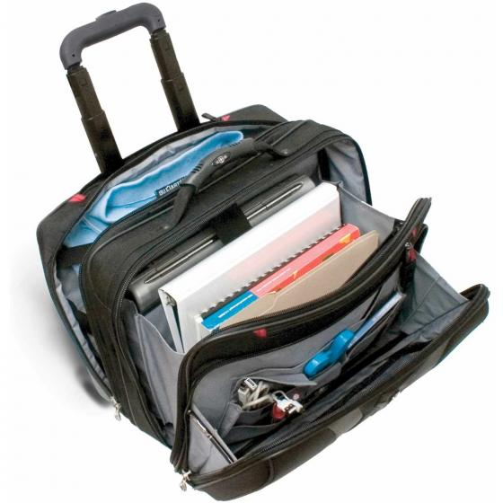 "600659 Granada 2-Rollen Laptop Trolley 42 cm 17"" black/grey"
