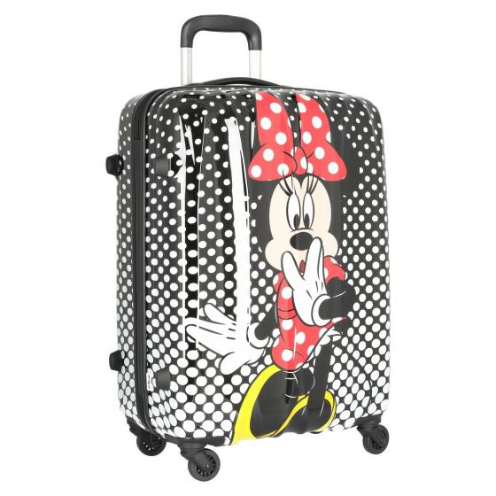 Disney Alfatwist 2.0 4-Rollen-Trolley M 65/24 Minnie Mouse Polka Dot