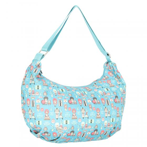 Lil Ledy Schultertasche 40 cm turquoise
