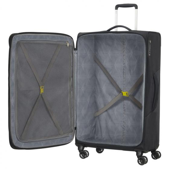 Summerfunk 4-Rollen-Trolley 79/29 cm erw. black carbon