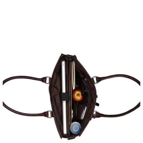 Antique Avery Laptoptasche / Schultertasche 15.6'' 40 cm dark brown