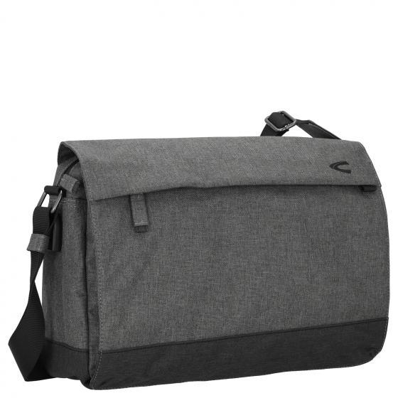Hong Kong Messenger Bag 42 cm grau