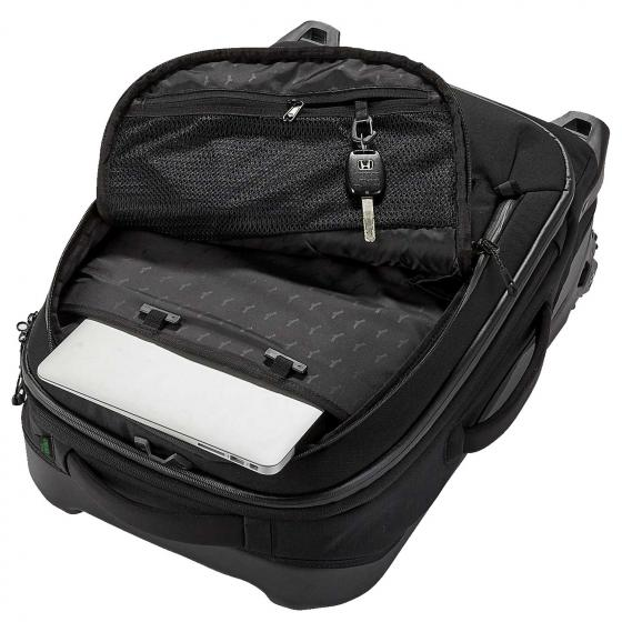 selection Caldera Wheeled Duffel International Carry On black