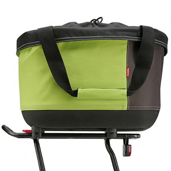 Rixen & Kaul Alingo GT Shopper Korb (inkl. KLICKfix Racktime Adapter) green/brown