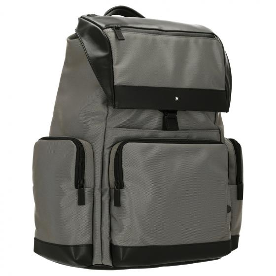 Nightflight Laptop-Rucksack RFID L 44 cm grey black