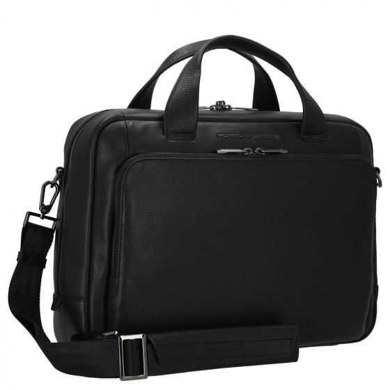 Roadster Leather Briefbag 15'' S 38 cm black