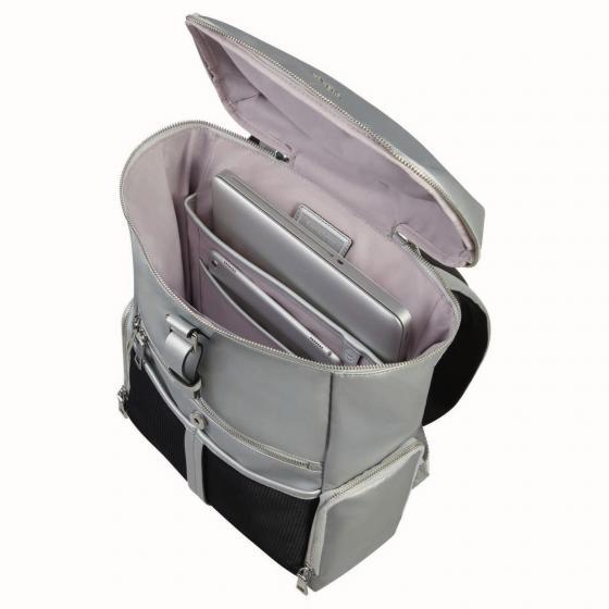 "Activ-Eight Top Open Rucksack 14.1"" 41.5 cm silver"