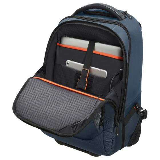 "Cityscape Evo Rucksacktrolley mit Laptopfach 15.6"" blue"