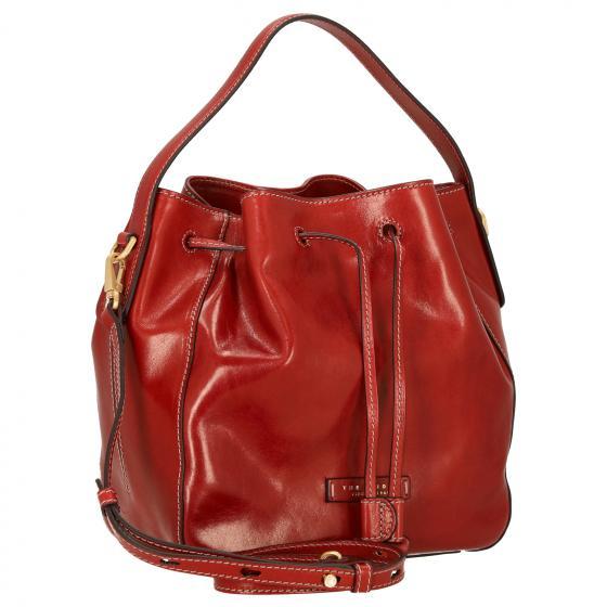 Maddalena Bucket Handtasche 28 cm red