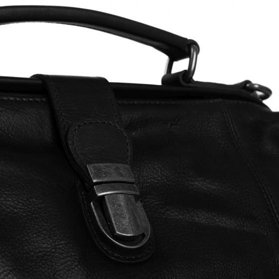 Shaun Doktortasche Leder 32 cm black