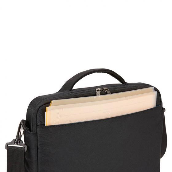 """Subterra MacBook Attache 13"""" Umhängetasche 36 cm black"""