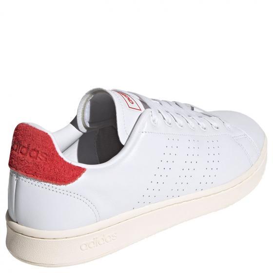 M Advantage Sneaker Schuh FY8808 42 | ftwwht/ftwwht/vivred