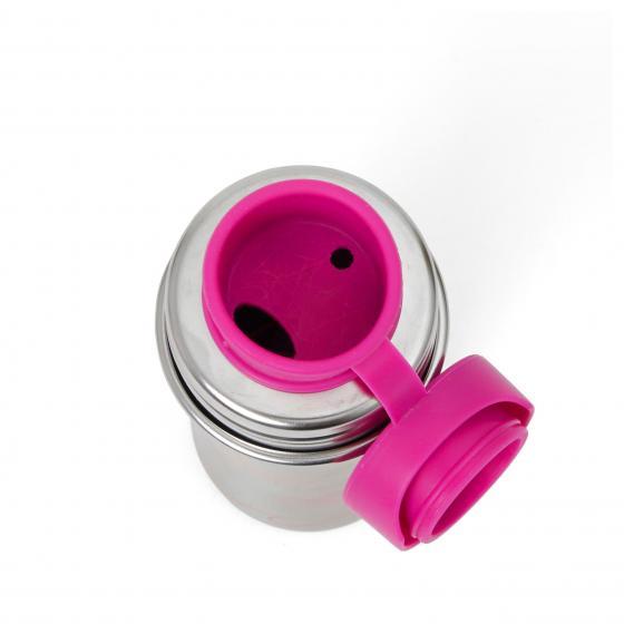 Edelstahl Trinkflasche violet