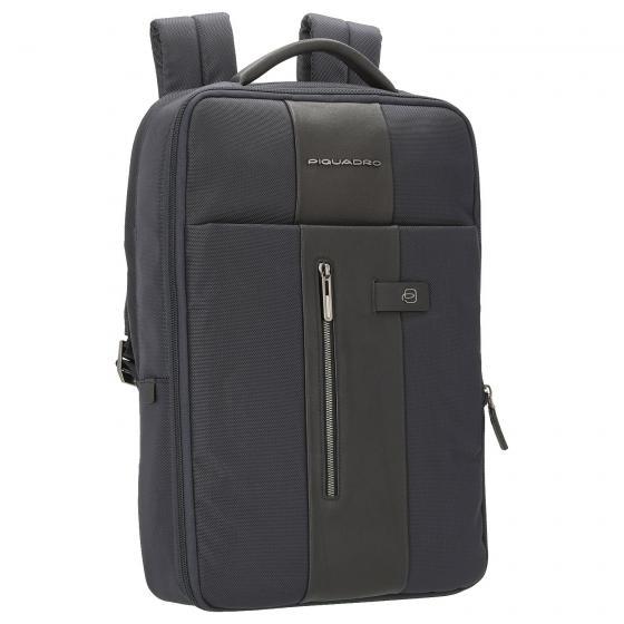 Brief Laptoprucksack mit iPad-Fach 45 cm blue