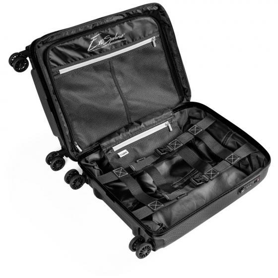 GTO 5.0 4-Rollen-Kabinentrolley 55 cm frozenBlack