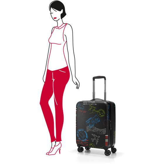 travelling suitcase 4-Rollen-Kabinentrolley S 55 cm