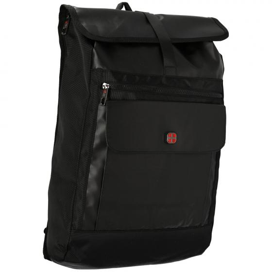 Rucksack seitliche Öffnung 50 cm black
