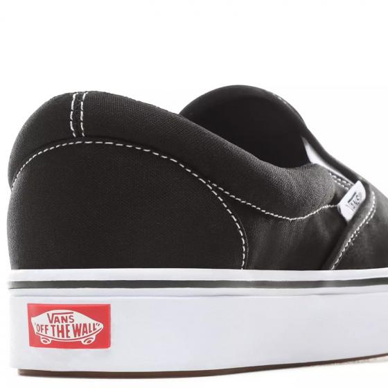 Vans Unisex ComfyCush Slip-On Sneaker Schuh VN0A3WMDVNE1 42,5 | black/true white