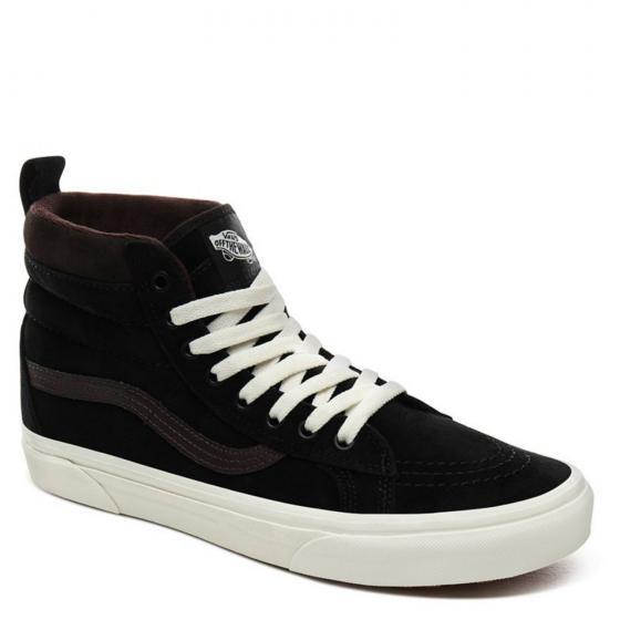 Vans Unisex SK8-Hi MTE Sneaker Schuh VN0A4BV7V3Z1 42 | black/chocolate torte