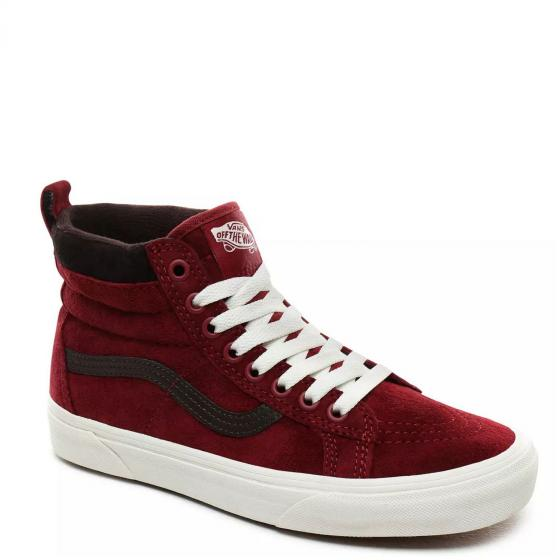 Vans Unisex SK8-Hi MTE Sneaker Schuh VN0A4BV7XKL1 36,5 | bkng rd/chocolatetrt
