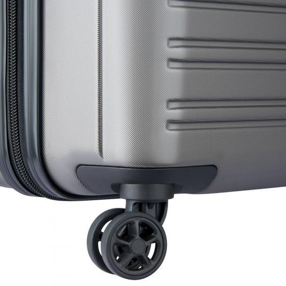 Segur 2.0 Business 4-Rollen-Kabinentrolley 55 cm erweiterbar grau