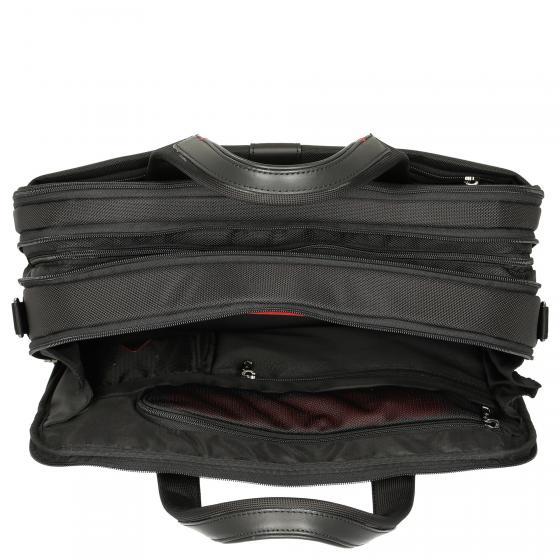 """PRO-DLX 5 15.6"""" Laptoptasche erw. 42 cm black"""