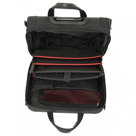 PRO-DLX 5 Business Case 2-Rollen-Businesstrolley erw. 46 cm black