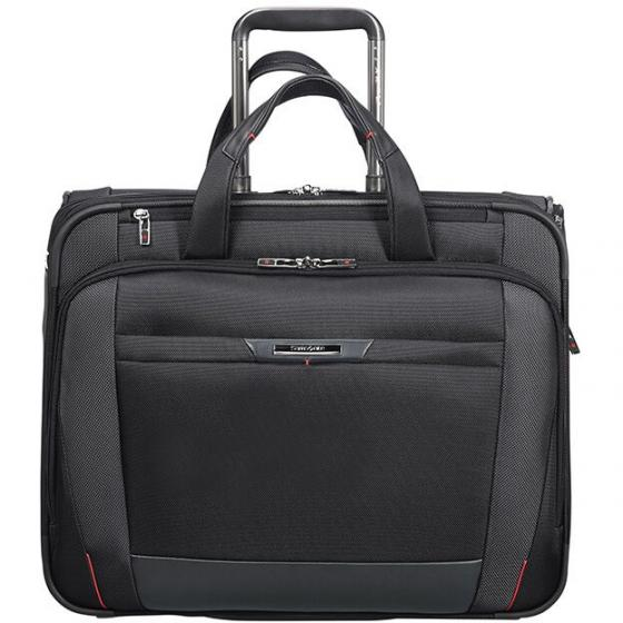 "PRO-DLX 5 Rolling Tote 17.3"" 2-Rollen-Businesstrolley 48.5 cm black"