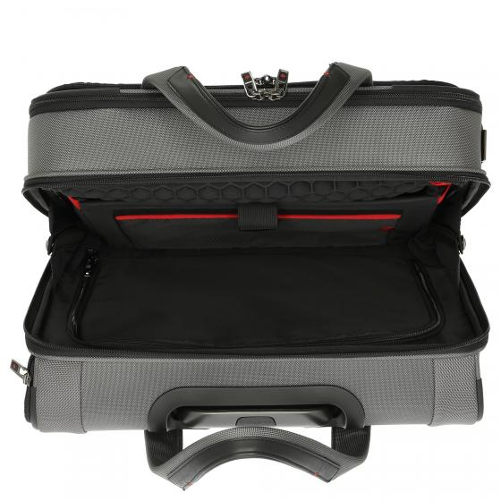 PRO-DLX 5 4-Rollen-Businesstrolley 44 cm black
