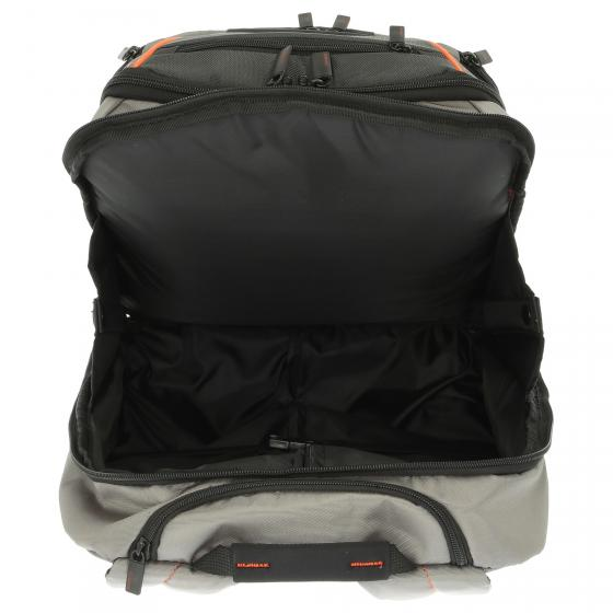 "Kleur Laptop Backpack Rucksacktrolley 17.3"" 48 cm orange/anthracite"