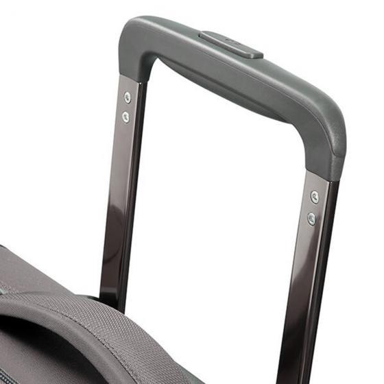 Uplite 2-Rollen-Trolley mit Aufsteckfunktion 45 cm grey