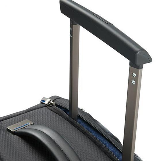 """Zigo 2-Rollen RucksackKabinentrolley 15.6"""" S 55/20 cm black"""