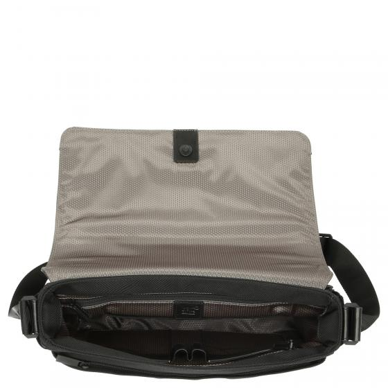 Nightflight Messenger Bag mit Umschlag 36 cm black