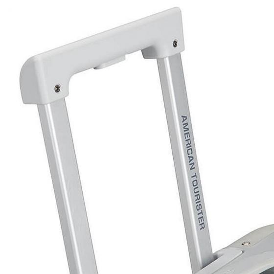 Alumo 4-Rollen-Kabinentrolley S 55 cm silver