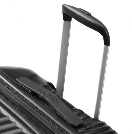 Jetglam 4-Rollen-Trolley 67/24 cm erw. metallic black