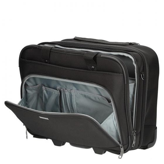 Mobile Office 2-Rollen Businesstrolley 44 cm black