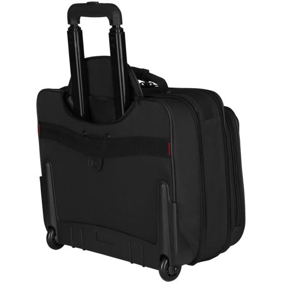 "600659 Granada 2-Rollen Laptop Trolley 42 cm 17"" black/grey"