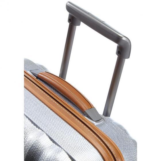 Lite-Cube DLX Spinner 4-Rollen-Kabinentrolley 55 cm aluminium