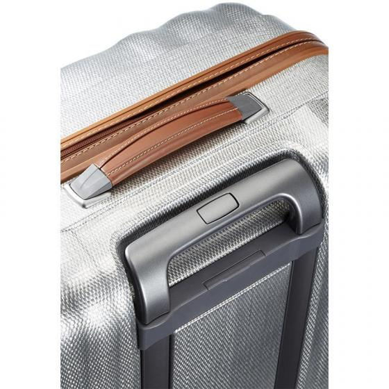 Lite-Cube DLX Spinner 4-Rollen-Trolley 68 cm aluminium