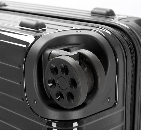 Essential Check-In M 63 schwarz glänzend