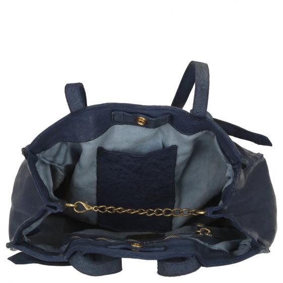 Angelica Schultertasche S 31 cm blue indigo