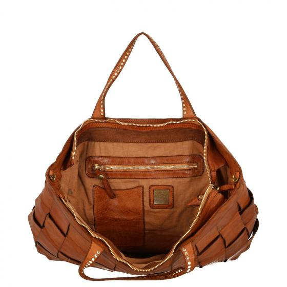 Shopping Bag L 49 cm cognac