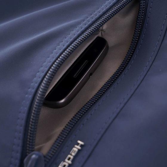 Womens Vogue Fashion Rucksack RFID 30 cm dress blue