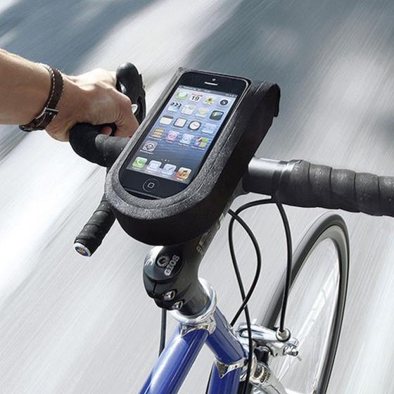KLICKfix Rixen & Kaul PhoneBag Tour M Fahrradtasche (inkl. Quad Mini Adapter) 19.5 cm black
