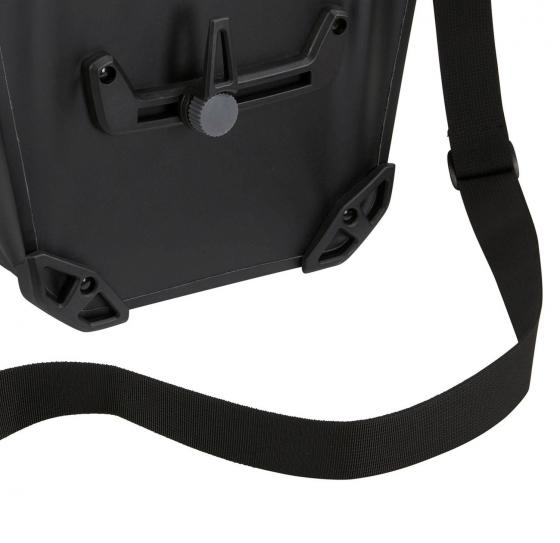 Shield Pannier 17L Single Fahrradtasche 40 cm black