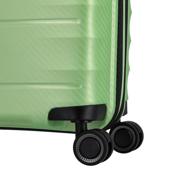 Highlight 4-Rollen-Trolley L 75 cm green metallic