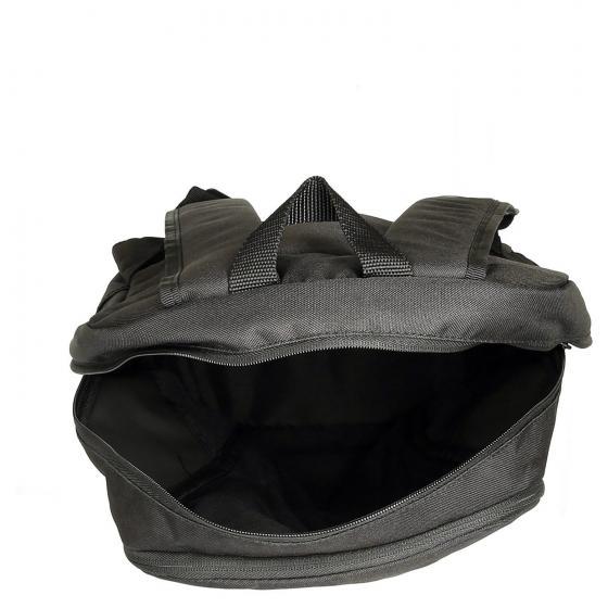 Parkhood Rucksack 45 cm black white black