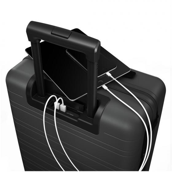 M5 Smart 4-Rollen-Kabinentrolley 55 cm graphite
