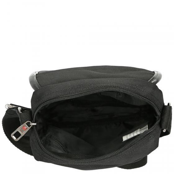 Schultertasche 22 cm black